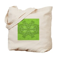Asterisk (green) Tote Bag