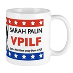 Sarah Palin Heartbeat VPILF Mug