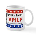 Sarah Palin Heartbeat VPILF Mug