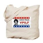 Sarah Palin VPILF Tote Bag