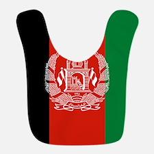 Flag: Afghanistan Polyester Baby Bib