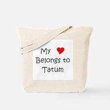 Cute Tatum Tote Bag
