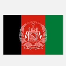 Flag: Afghanistan Postcards (Package of 8)
