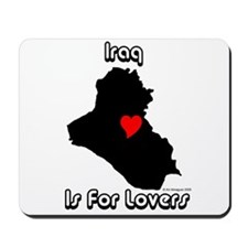 Iraq is for lovers Mousepad