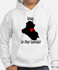 Iraq is for lovers Hoodie
