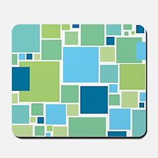 Blue Tiles  Mousepad