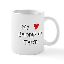 Unique Heart taryn Mug