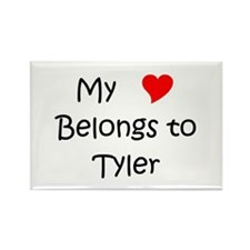 Cute Tyler Rectangle Magnet