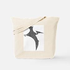 Vintage Pterodactyl Tote Bag