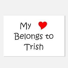 My heart belongs roseanne Postcards (Package of 8)
