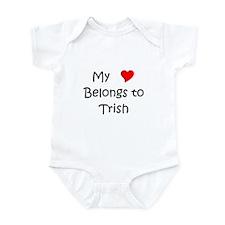 Funny Trish Infant Bodysuit