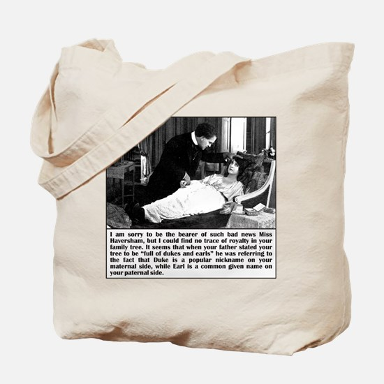 Dukes And Earls Tote Bag