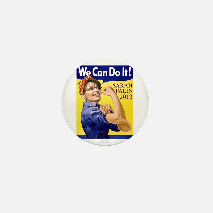 Sarah Palin We Can Do It Mini Button