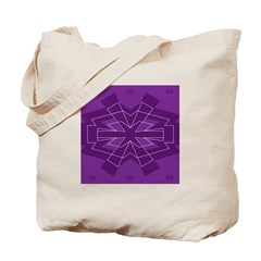 Asterisk (purple) Tote Bag