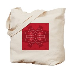 Asterisk (red) Tote Bag