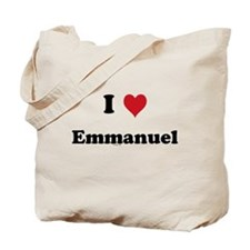 I love Emmanuel Tote Bag