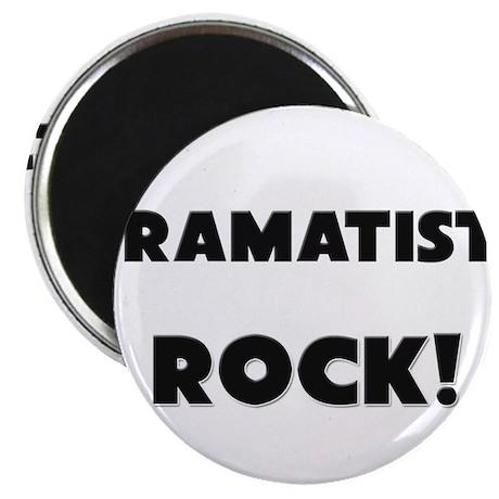 Dramatists ROCK Magnet