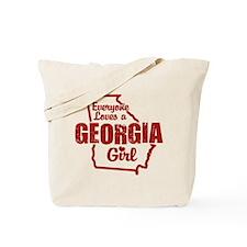Georgia Girl Tote Bag