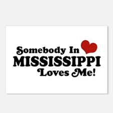 Somebody in Mississippi Loves Me Postcards (Packag