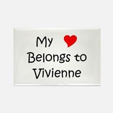 Vivienne Rectangle Magnet