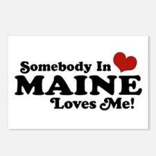 Somebody in Maine Loves Me Postcards (Package of 8