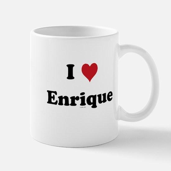 I love Enrique Mug