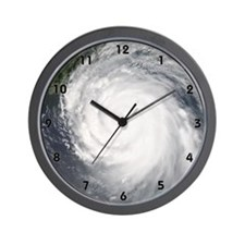 Hurricane Katrina Wall Clock (black numbers)