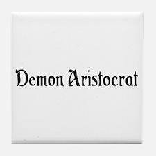 Demon Aristocrat Tile Coaster