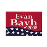 Evan Bayh 2008 Rectangle Magnet