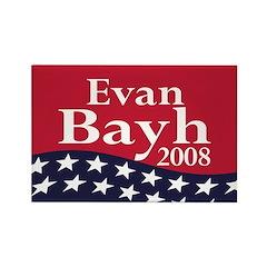 Evan Bayh 2008 Rectangle Magnet