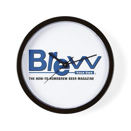 BYO Logo BrewWare & Gifts Wall Clock