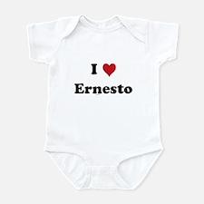 I love Ernesto Infant Bodysuit