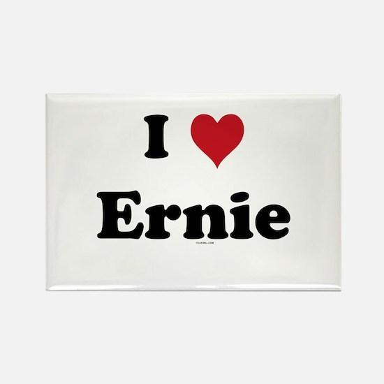 I love Ernie Rectangle Magnet