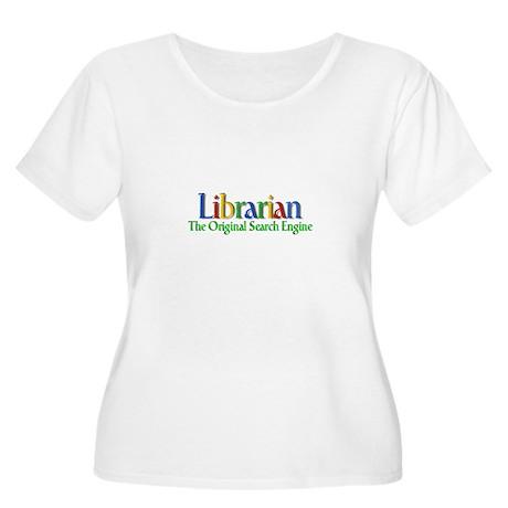 Librarian - Original Search Engine Women's Plus Si