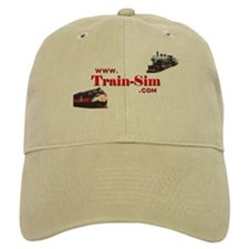 Train-Sim.Com Logo Baseball Cap