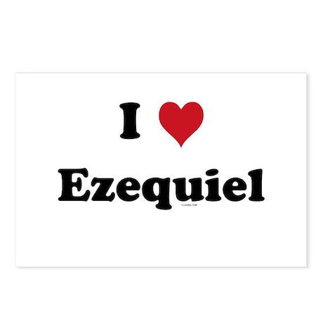I love Ezequiel Postcards (Package of 8)