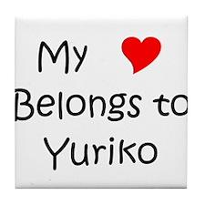 Yuriko Tile Coaster