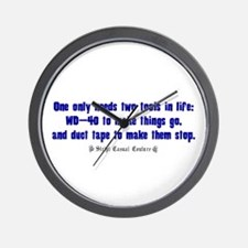 Tools For Life Wall Clock