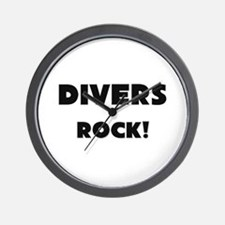 Divers ROCK Wall Clock