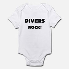 Divers ROCK Infant Bodysuit