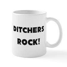 Ditchers ROCK Small Mugs