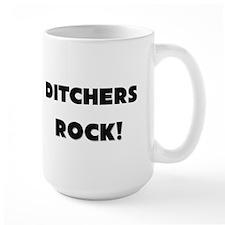 Ditchers ROCK Ceramic Mugs