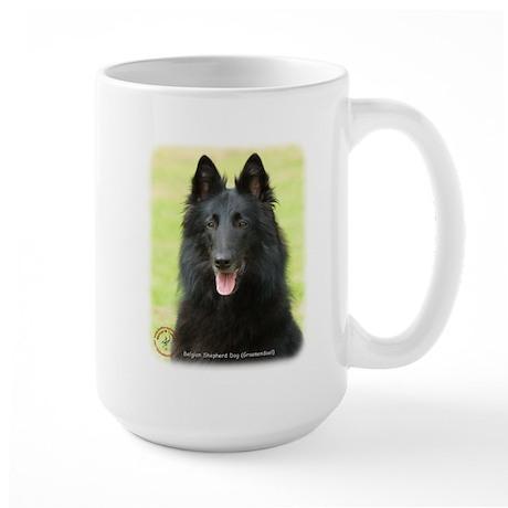 Belgian Shepherd (Groenendael) Large Mug