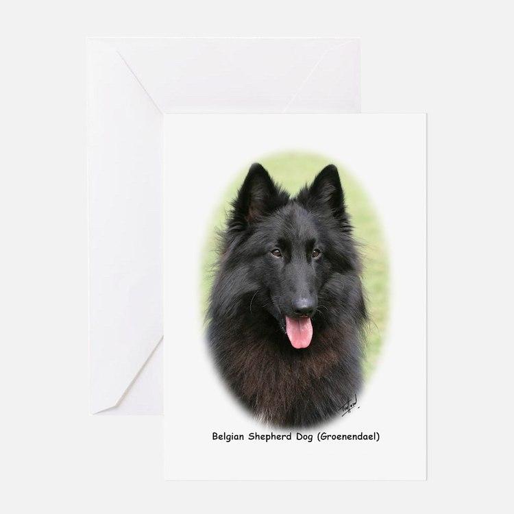 Belgian Shepherd (Groenendael) Greeting Card