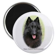 "Belgian Shepherd (Groenendael) 2.25"" Magnet (10 pa"