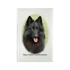Belgian Shepherd (Groenendael) Rectangle Magnet