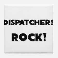 Dispatchers ROCK Tile Coaster