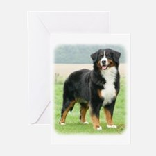 Bernese Mountain Dog 9Y066D-133 Greeting Cards (Pk