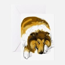 Chase Sleeping Greeting Cards (Pk of 10)