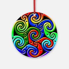 Celtic Spiral Christmas Ornament